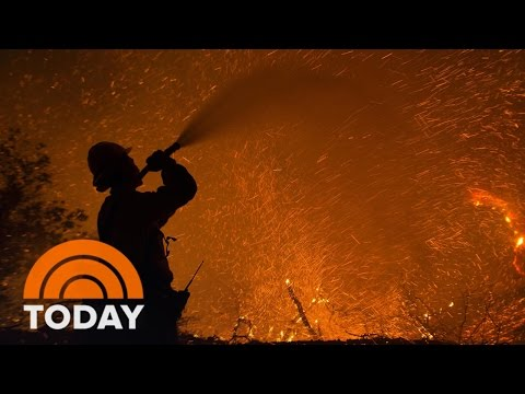 Drought, High Temps Fuel California Wildfires As Evacuations Continue | TODAY