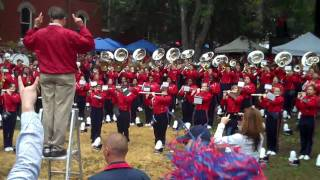 Ole Miss Band  Grove 10/10/2009 Dixie With Love