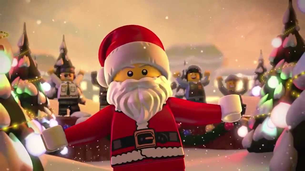 Lego Christmas.Lego City Hey Hey Hey Merry Christmas