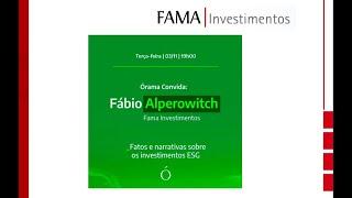 Live com Órama Investimentos: Como funcionam os investimentos ESG  (03/11)
