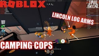 Roblox: JailBreak: Grind to 3 Million | TOO MANY CAMPING COPS | JEWELRY STORE FIGHTS
