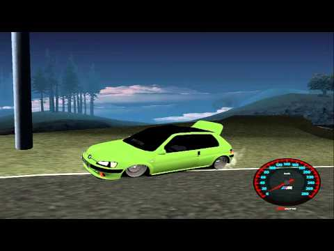 Peugeot 106 GTI JDM STYLE Para GTA San Andreas