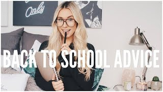 Back to school advice & tips