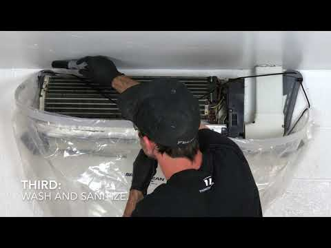 Ductless Air Conditioner Cleaning.