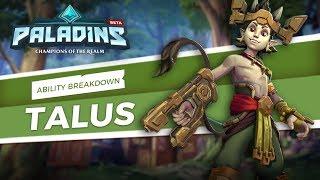Paladins - Ability Breakdown - Talus, of the Ska