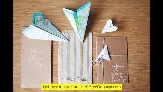 Origami Plane Can Fly
