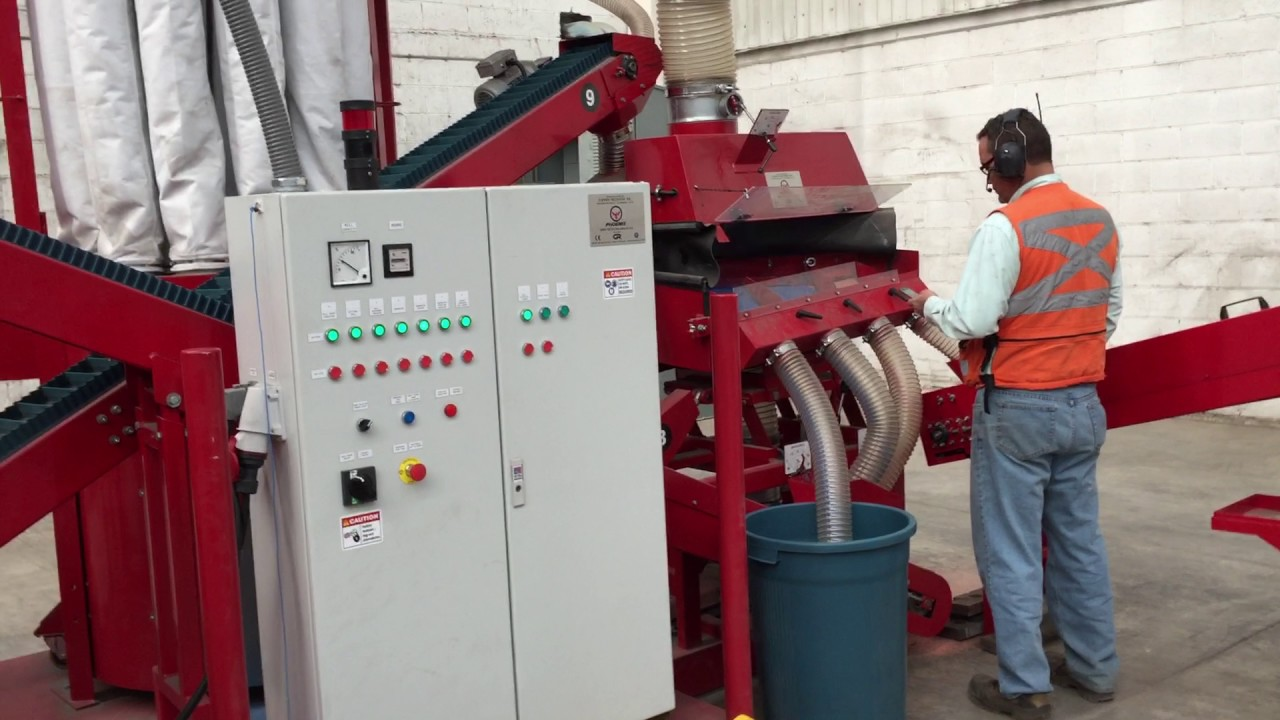 PHOENIX Cable Recycling Plant - Wire Recycling - Wire Chopper ...