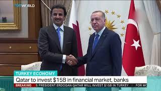 Qatar pledges $15 billion of investment in Turkey