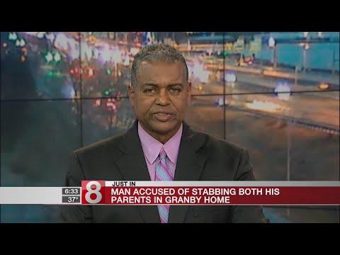 PD: Man arrested for stabbing parents in Granby - Dauer: 18 Sekunden