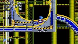 Sonic Mania Presents...A Sneak Peek At Chemical Plant Zone Act 1 feat. Sonic