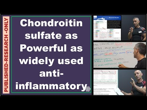 Chondroitin Sulfate As Powerful As A Widely Used Anti-inflammatory
