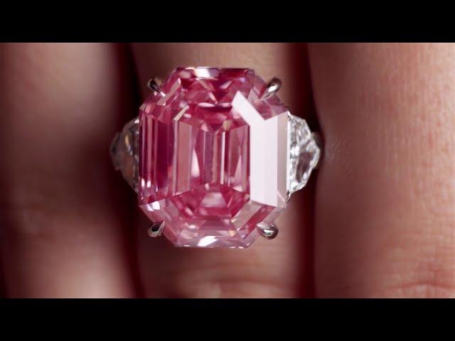 Pink Legacy  Το διαμάντι στα χέρια του ιδιοκτήτη της Swatch έναντι ... f78d0735337