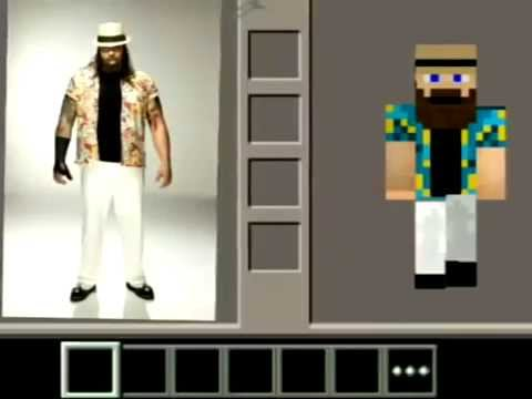 Top Skins De Wwe Para Minecraft YouTube - Skin para minecraft pe wwe