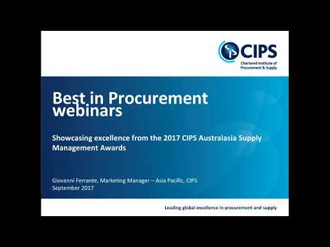 'Best in Procurement' webinar - Department of Internal Affairs & Ministry of Social Development
