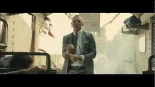 "SKYFALL 007 - ""Digger vs Train"" Film Clip [HD] - In Singapore Theatres 1 November 2012"