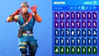 COLE SKIN SHOWCASE MIT ALLEN FORTNITE DANCES & EMOTES