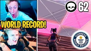 Streamers Get *NEW WORLD RECORD* 62 KILLS in Fortnite SQUADS!