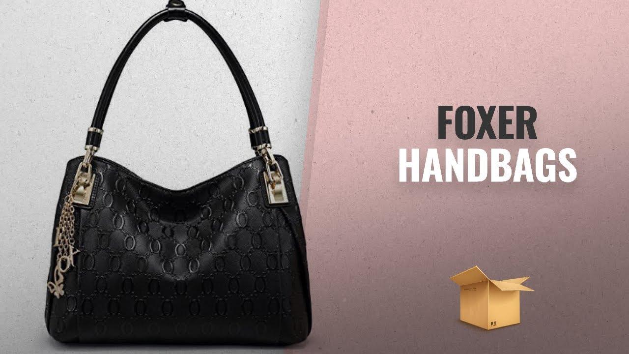 fc7d9500cdfe Top Selected Foxer Handbags Collection [2018 ]: FOXER Women Leather Handbag  Purse Top Handle Tote