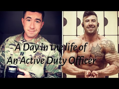A Day In The Life Of A Active Duty Army Captain