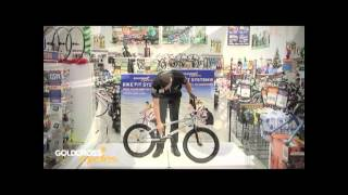 Different types of BMX bikes