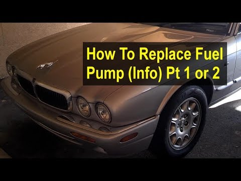 How to replace the fuel pump on a Jaguar XJ8, warnings, troubleshooting, etc. Part 1 of 2 – REMIX