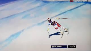 Beat Feuz eröffnet und gewinnt das Lauberhornrennen in Wengen 2018