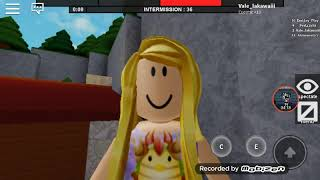 Playing roblox! They killed me at all and they got the internet