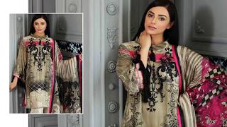 Charizma Sheen Collection Vol 01 Winter Dresses 2018