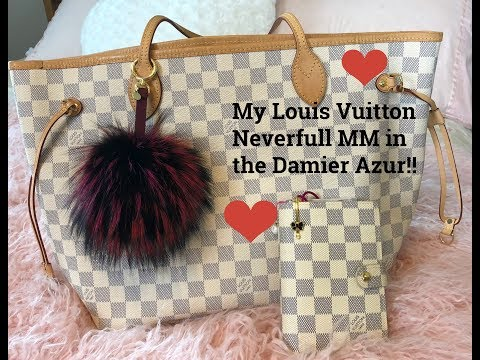My Louis Vuitton Neverfull MM Review   What's inside My Bag!!