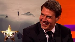Tom Cruise Reveals the BIGGEST Mission Impossible Stunt Yet | The Graham Norton Show