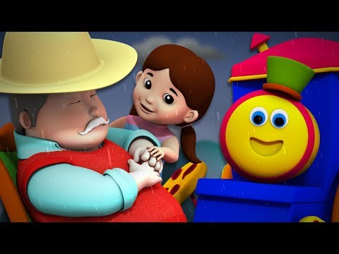 It's Raining It's Pouring | Bob The Train | Video For Toddlers