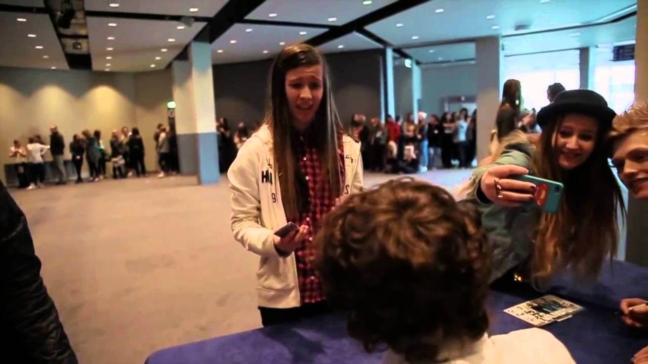 The Vamps Meet And Greet 2000 Fans In Glasgow Youtube