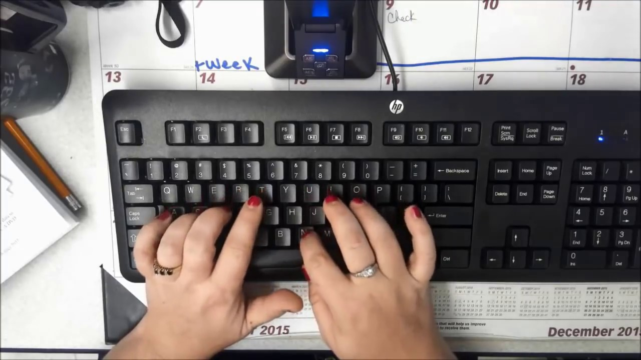proper typing hand positions youtube