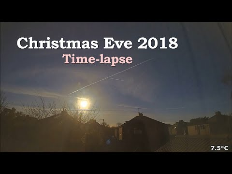 Christmas Eve 2018 Time-lapse