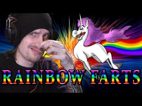 Rainbow farts