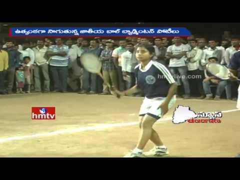 61st National Ball Badminton Tourney in Khammam District | HMTV