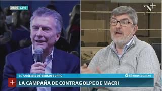 Sergio Suppo: Macri juega de contragolpe sobre los puntos débiles de Cristina Kirchner
