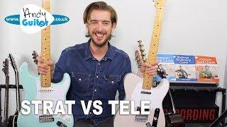 Stratocaster VS Telecaster - my take