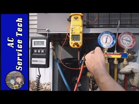 R-410A Charging! Charging a System that is Very Low on Refrigerant,  Avoid the Evap Freezing! Part 1