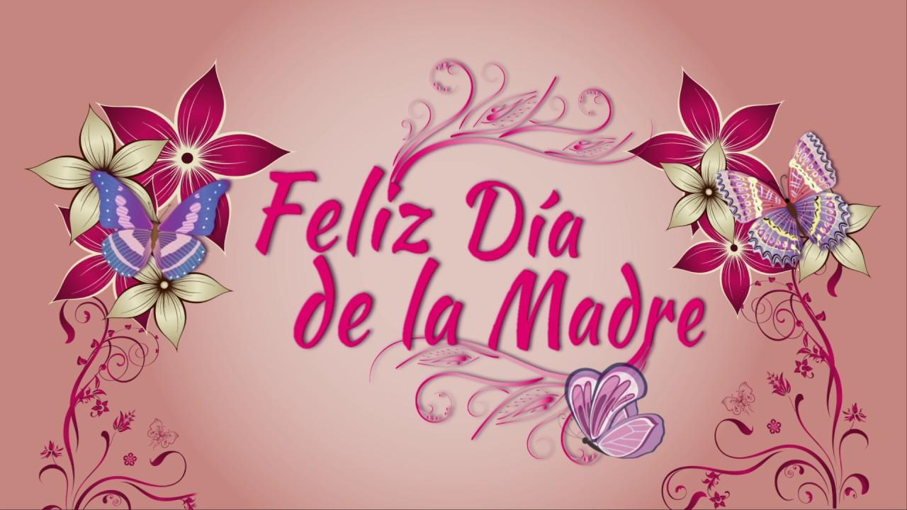 Wallpaper Dia De Las Madres: ¡Feliz Día De La Madre! Tarjeta Animada