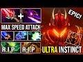 ULTRA INSTINCT BOSS Dragon Knight 100% Crit + Silver Edge Deleted Viper and BB Max Attack DotA 2