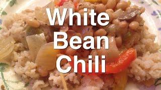 Meatless Monday - Vegetarian White Bean Chili