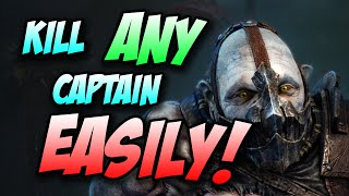 Shadow of Mordor - How to Kill ANY Captain EASILY!