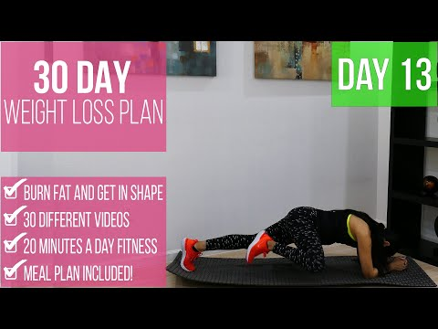 30-day-weight-loss-program-day-13-|-under-20-minutes-per-day-|-burn-fat-get-in-shape-|-fitnessbynena
