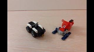 Собираем Снегоход и Квадроцикл из Lego (Внеочередной выпуск Собираем)