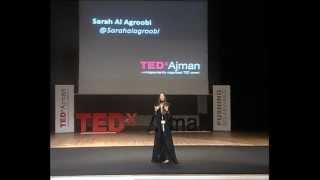 TEDxAjman - Sarah Al Agroobi - A Different View