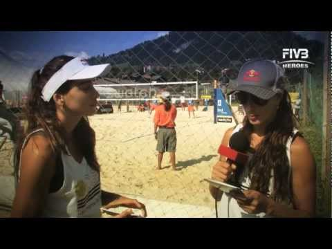 FIVB Heroes Question Time - Salgado Sisters
