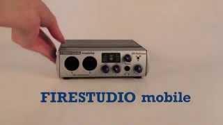 PreSonus FireStudio Mobile—Lindsey's Commercial