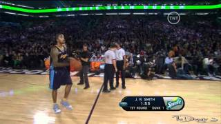 JR Smith Double Bounce Windmill Dunk [Full 1080p HD]