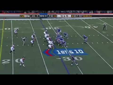 Giants Def. Falcons in overtime 34-31